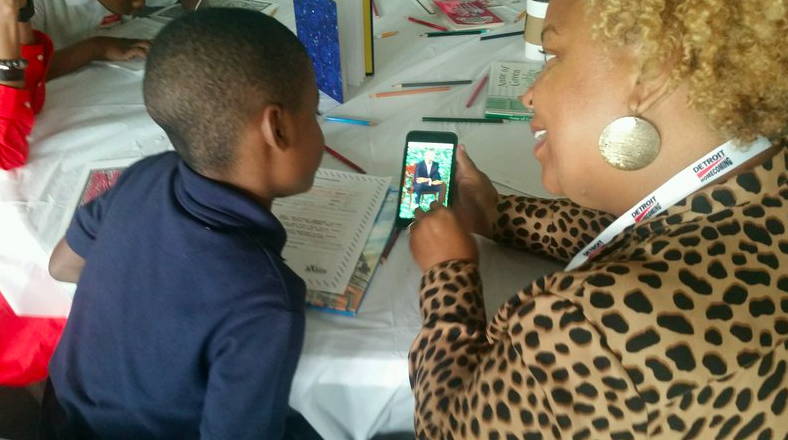 Homecoming expats help Detroit students find their dreams